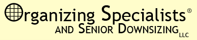 Organizing Specialists and Senior Downsizing LLC